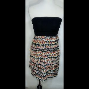Miss Minuet Silk Dress M